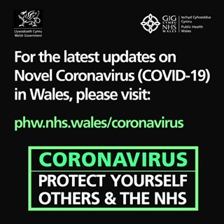 Latest updates on Novel Coronavirus in Wales, visit Phw.nhs.wales/coronavirus